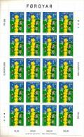 2000   FAROER  Europa N. 1 Minifogli Serie Cpl  Nuovo ** MNH - Islas Faeroes
