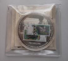 Ten Dollars 2002 Adieu à La Monnaie Française - Liberia