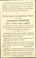 Armand Gustin Lahage Ruette 1900 1939 - Tintigny