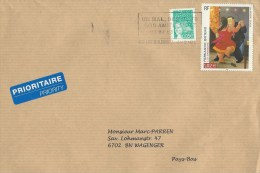France 2003 Metz Botero Painter Painting Art Cover - Brieven En Documenten