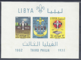 LIBYE - 1962 -  BLOC-FEUILLET N° 4 - NEUF  - X - - Libië