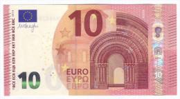 SLOVAKIA  10 Euro DRAGHI  E005H1  UNC - 10 Euro