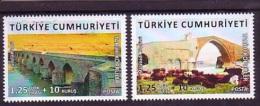 2015 TURKEY HISTORICAL BRIDGES MNH ** - Nuevos