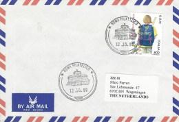 Italy 1999 Postman Collossum Cancellation Roman Cover - 1946-.. Republiek