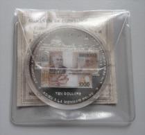 Ten Dollars 2002 Adieu à La Monnaie Belge - Liberia