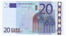 GERMANY  20 Euro DRAGHI  E009D3  UNC - EURO