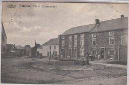 Felenne - Place Communale - Animée - 1914 - Edit. Vve Delhaye/VPF - Pli Coin Droit Supérieur - Beauraing