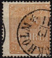SUEDE - 3 ö. De 1862/66 TTB - Suède