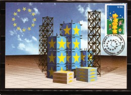 RUMANIA / ROMANIA / ROUMANIE  Tarjeta Maxima Año 2000.   Europa CEPT - Tarjetas – Máximo