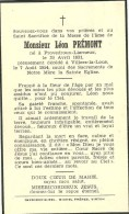 Léon Prémont  Provedroux Lierneux  Villers La Loue Meix Devant Virton 1931 1954 - Meix-devant-Virton