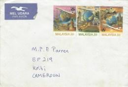 Malaysia 1996 Penang Tourism IATA Airplane Cover - Maleisië (1964-...)