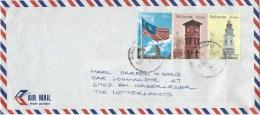 Malaysia 2004 Kuala Lumpur Clock Tower Flag Cover - Maleisië (1964-...)