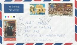Malta 1999 Zabbar SMOM Grandmaster Isle Adam European Council Cover - Malta