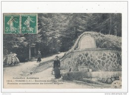 06 TURINI FONTAINE COMMEMORATIVE DU COLONEL WAGNER CPA BON ETAT - France