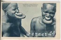 Sara-Kaba V. 1936 Lippen-Negerin -- Eine Freudige Nachricht (7964) - Tschad