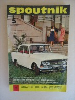 Revue  - SPOUTNIK - No 5 Octobre 1967 - Digest,mensuel - L'URSS Au Salon De L'Auto à Paris - - Allgemeine Literatur