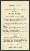 Pierre Noel Veuf De Jeanne Catherine Berne Gérouville Saint Vincent 1840 1929 - Tintigny