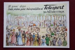1957 TOTOSPORT SUL 40° GIRO D'ITALIA - 9^ TAPPA NAPOLI FRASCATI //CICLISMO / CYCLISME / CYCLING - Cyclisme