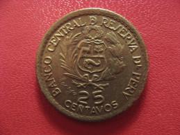 Peru - 25 Centavos 1565-1965 1210 - Pérou