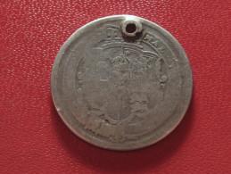 Grande-Bretagne - UK - Shilling 1917 - Trouée 1057 - 1816-1901 : Frappes XIX° S.