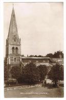 RB 1055 -  Early Real Photo Postcard - Wellingborough Church - Northamptonshire - Northamptonshire