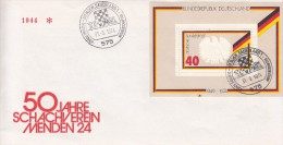 SCHACH-CHESS-ECHECS-SCACC HI, Western Germany, 1974, Special Postmark !! - Scacchi