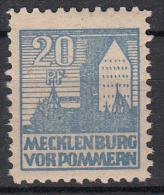 DUITSLAND - Michel - 1946 - Nr 38 (MECKLENBURG & VOORPOMMEREN) - MNH** - Sowjetische Zone (SBZ)