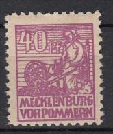 DUITSLAND - Michel - 1946 - Nr 40 (MECKLENBURG & VOORPOMMEREN) - MNH** - Sowjetische Zone (SBZ)