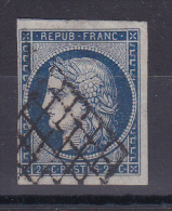 CERES N° 4 OBL COTE 60€ - 1849-1850 Ceres