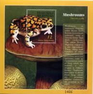 MICRONESIA 2000  BLOC CHAMPIGNONS - MUSHROOMS LUXE **MNH - Funghi