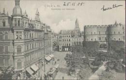 Köln Am Rhein, Rudolfplatz Und Hahnentor, Postkarte, Cöln, Nordhrein-Westfalen - Koeln
