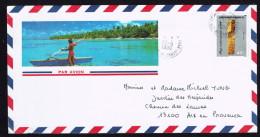 1989  Lettre Avion Pour La France   YvYv 327 - Briefe U. Dokumente