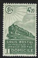 """FR Colis Postaux YT 185 """" Livraison à Domicile 4F20 Vert Foncé """"  1941 Neuf* - Paketmarken"""