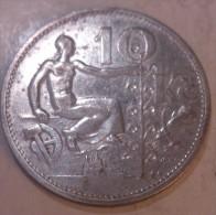 Czechoslovakia 10 Korun 1932 - Tchécoslovaquie