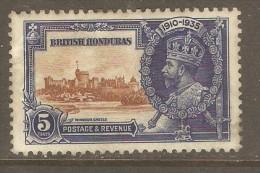 BRITISH HONDURAS  Scott  # 110* VF MINT HINGED - British Honduras (...-1970)