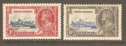 VIRGIN ISLANDS  Scott  # 69-72* VF MINT HINGED - British Virgin Islands