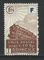 """FR Colis Postaux YT 200 """" Livraison à Domicile  F Bleu Brun """" 1943 Neuf* - Paketmarken"""
