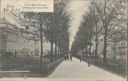 Köln Am Rhein, Partie Am Ubierring Mit Maschinenbauschule, Postkarte, Cöln, Nordhrein-Westfalen - Koeln