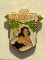 Pin´s PIN UP´S - STRUGGLE'S - Pin-ups