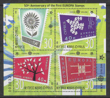 Cyprus 2006 50Y Europa M/s ** Mnh (17894) - Europa-CEPT