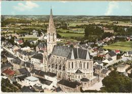 Carquefou-vue Aérienne - L'église-cpsm- - Carquefou