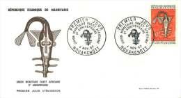 MAURITANIE  1967  Union Monétaire Ouest Africaine  FDC - Mauritania (1960-...)
