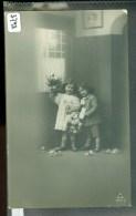 BLOEMEN * IRIS * ANSICHTKAART * POSTCARD * CPA * GELOPEN IN 1909 Van NAALDWIJK Naar TERSCHELLING * NVPH 55 (3744) - Bloemen
