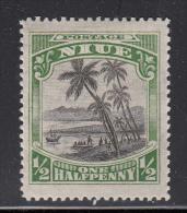 Niue MH Scott #41 SG #44 1/2p Landing Of Captain Cook - Wmk NZ, Star - Niue