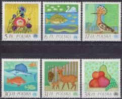 Polen / Poland - Mi-Nr 2850/2855 Postfrisch / MNH ** (a280) - Umweltschutz Und Klima