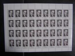 RUSSIA 1988 MNH (**)YVERT5510. N.M.CHVERNIK,.in The Entire Sheet. Neu - Full Sheets