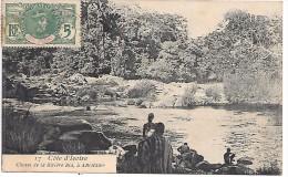 COTE D´IVOIRE - Chute De La Rivière  Bia, à ABOISSO - Timbre - Côte-d'Ivoire