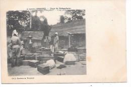 COTE D´IVOIRE - Colonies Françaises - A Travers L'INDENIE - Etape De Malamabasso - Côte-d'Ivoire