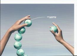 CPM Publicitaire AIR FRANCE KLM, Plus De 900 Destinations Petits Globes Terrestres Campagne Publicitaire De 2006 - Sin Clasificación