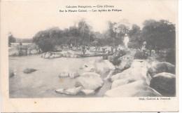 COTE D´IVOIRE - Colonies Françaises - Sur Le Fleuve Comoé - Les Rapides De Pétèpre - Côte-d'Ivoire